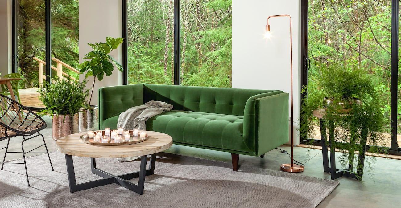 Cirrus Grass Green Sofa | Article