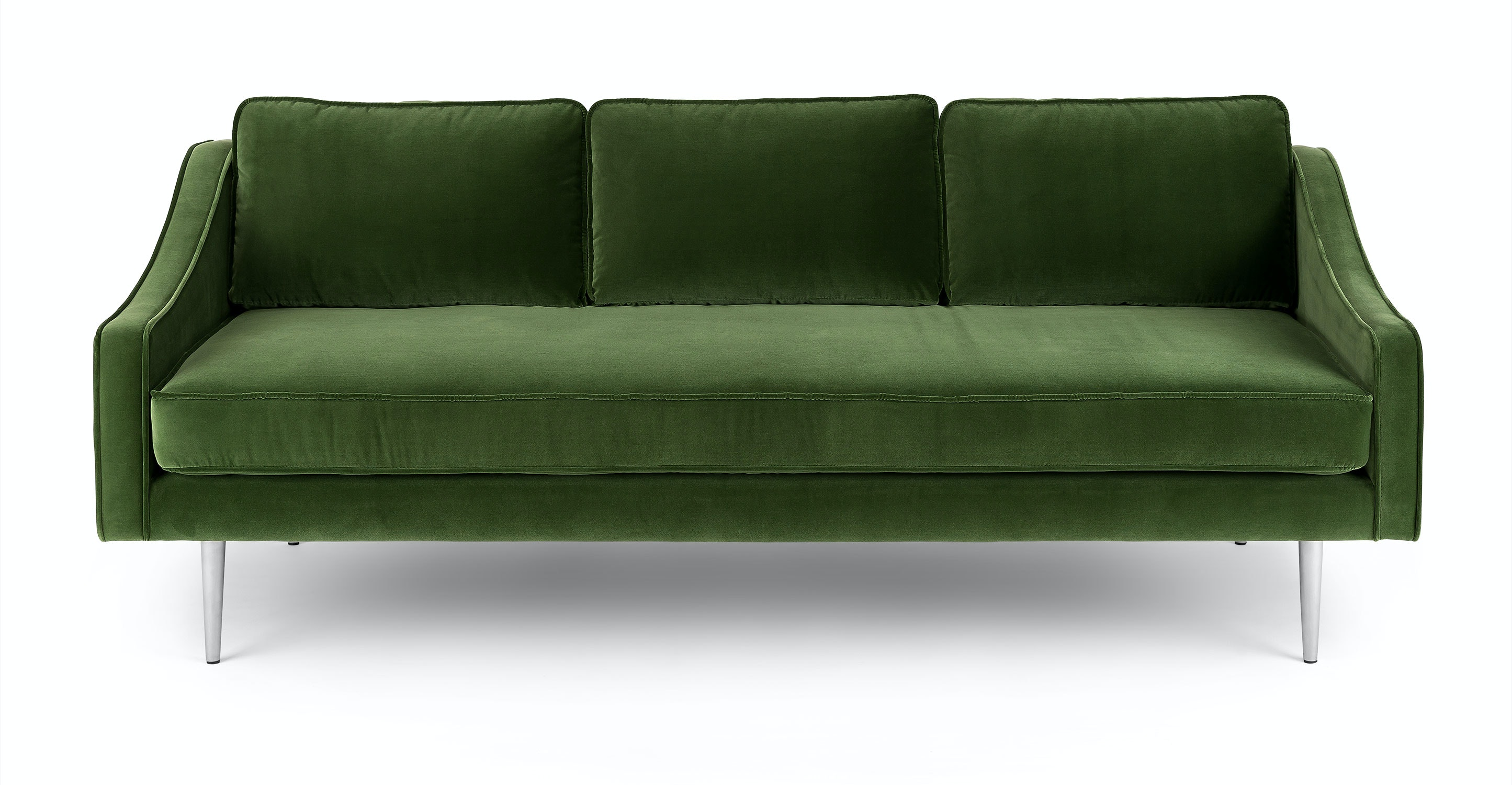 Mirage Grass Green Sofa Sofas Article Modern Mid