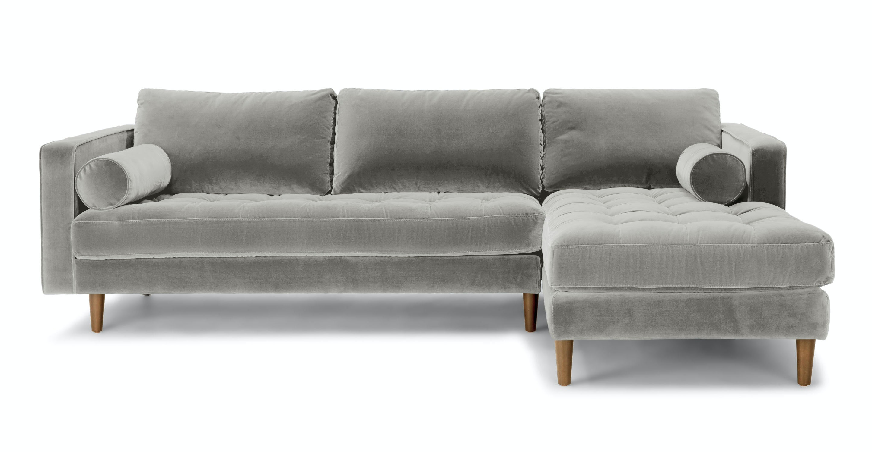 Sven Grass Green Right Sectional Sofa Sectionals Article