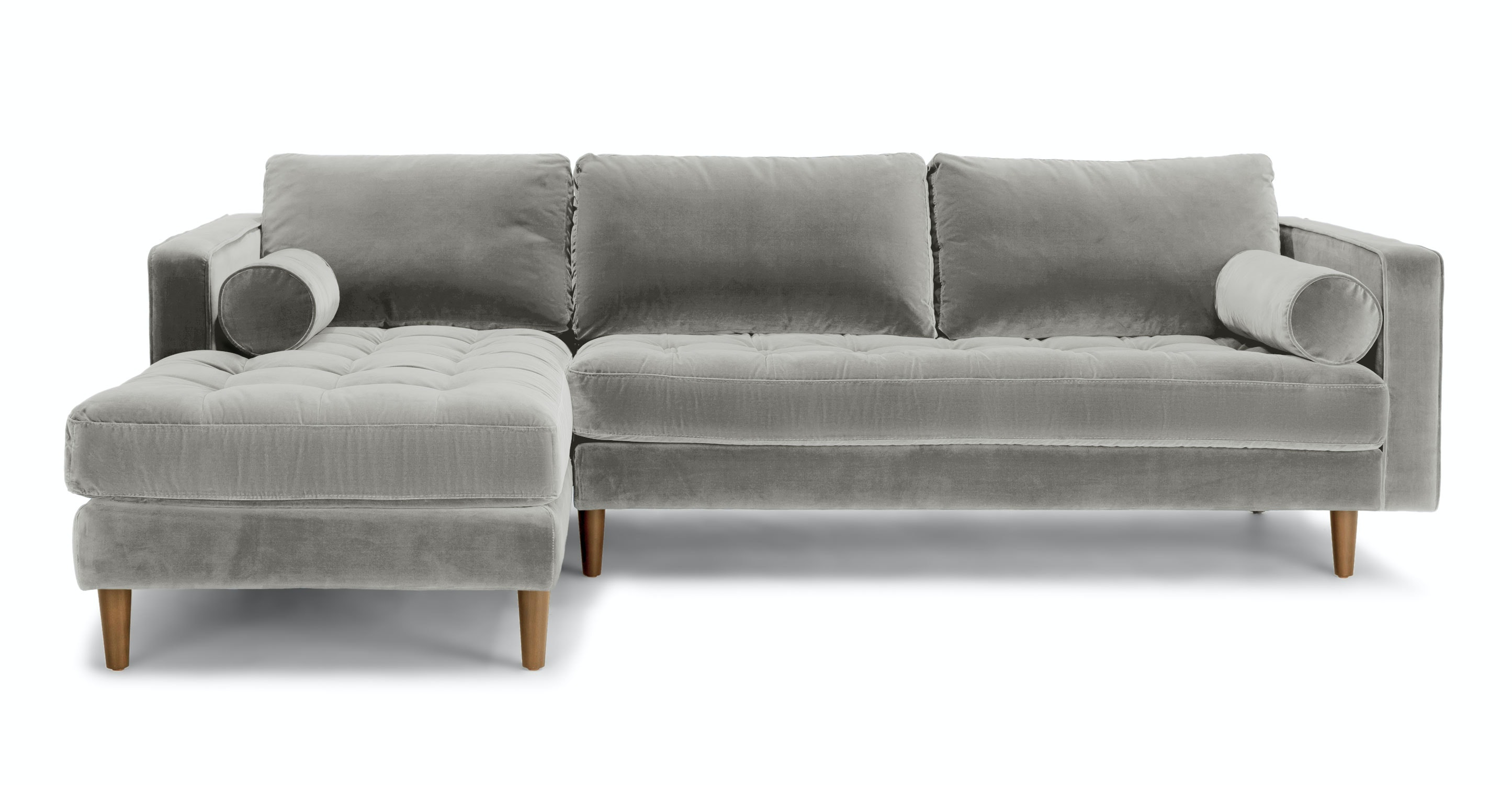 Sven Intuition Gray Left Sectional Sofa   Sectionals   Article | Modern,  Mid Century And Scandinavian Furniture