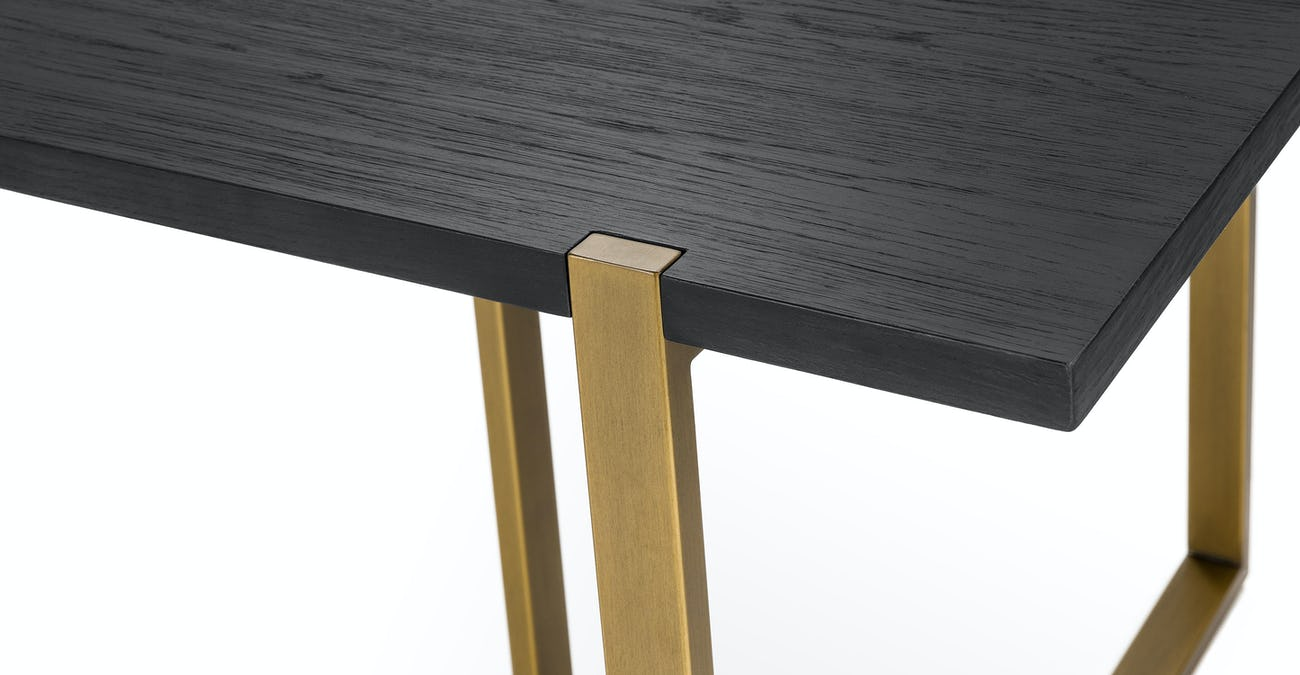 Coffee Table To Dining Table.Oscuro Black Extendable Dining Table