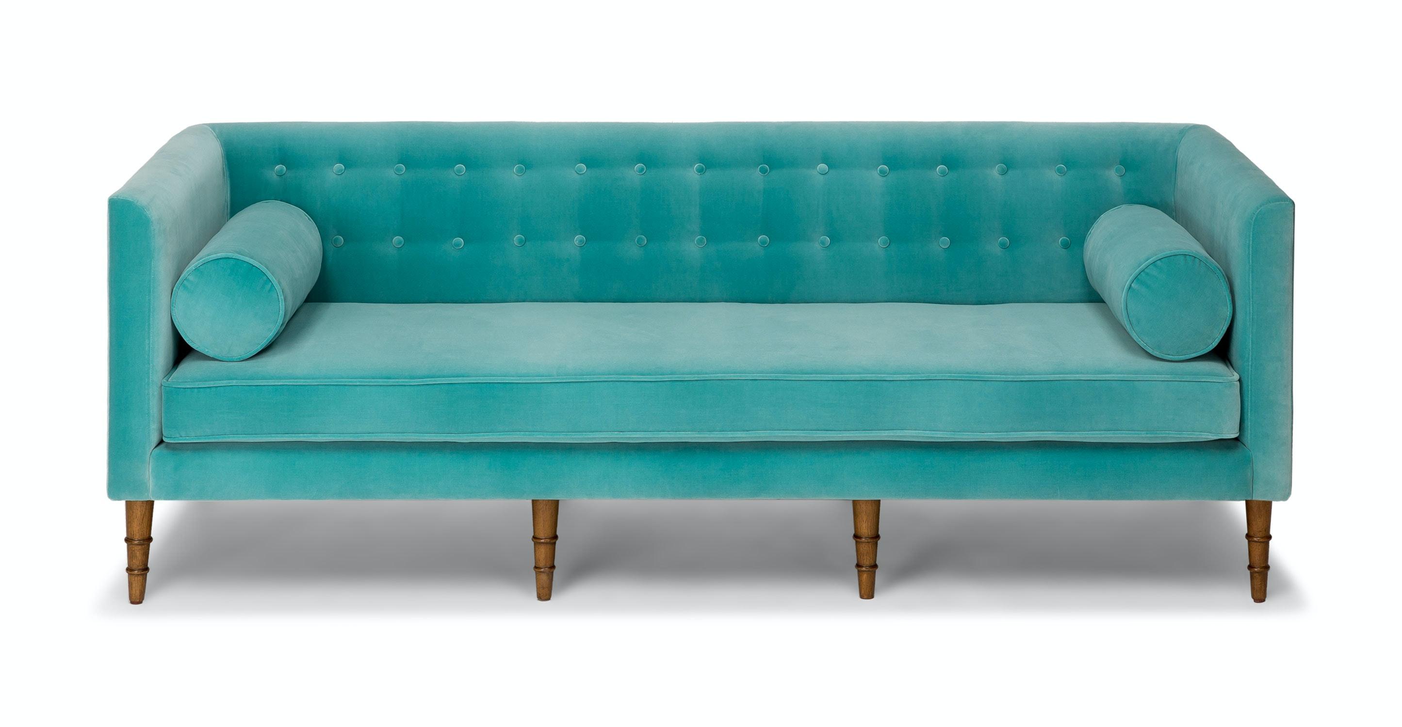 Bon Celosia Oahu Aqua Sofa   Sofas   Article | Modern, Mid Century And  Scandinavian Furniture