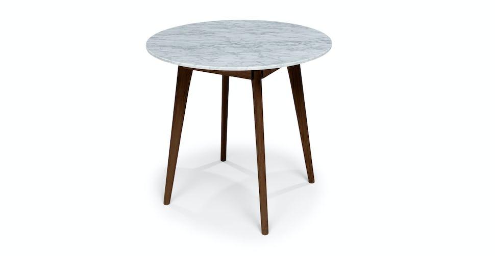 Astounding Walnut Marble Mara Round Coffee Table Article Spiritservingveterans Wood Chair Design Ideas Spiritservingveteransorg