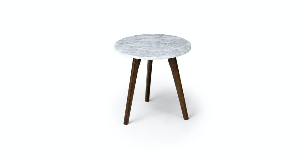 Awesome Walnut Marble Mara Round Coffee Table Article Spiritservingveterans Wood Chair Design Ideas Spiritservingveteransorg