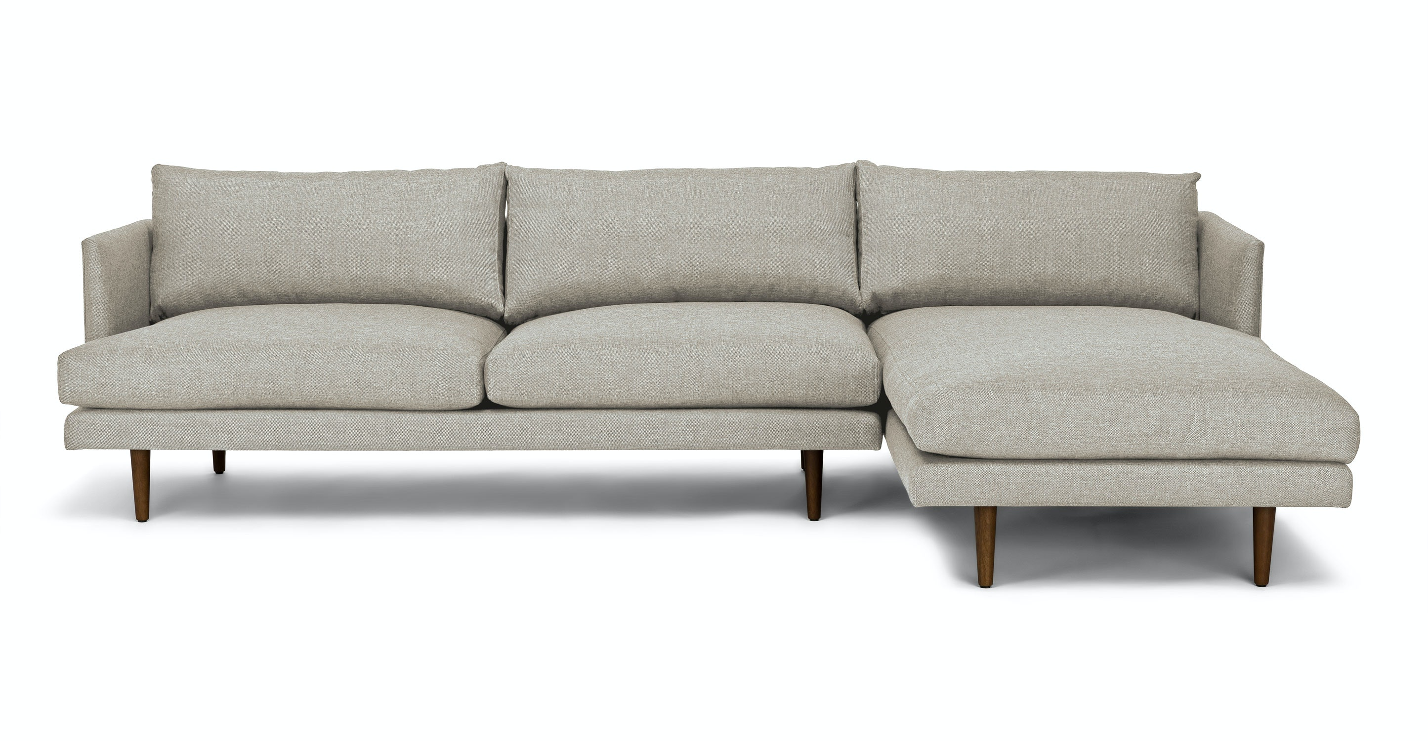 Burrard Seasalt Gray Right Sectional Sofa Sectionals Article