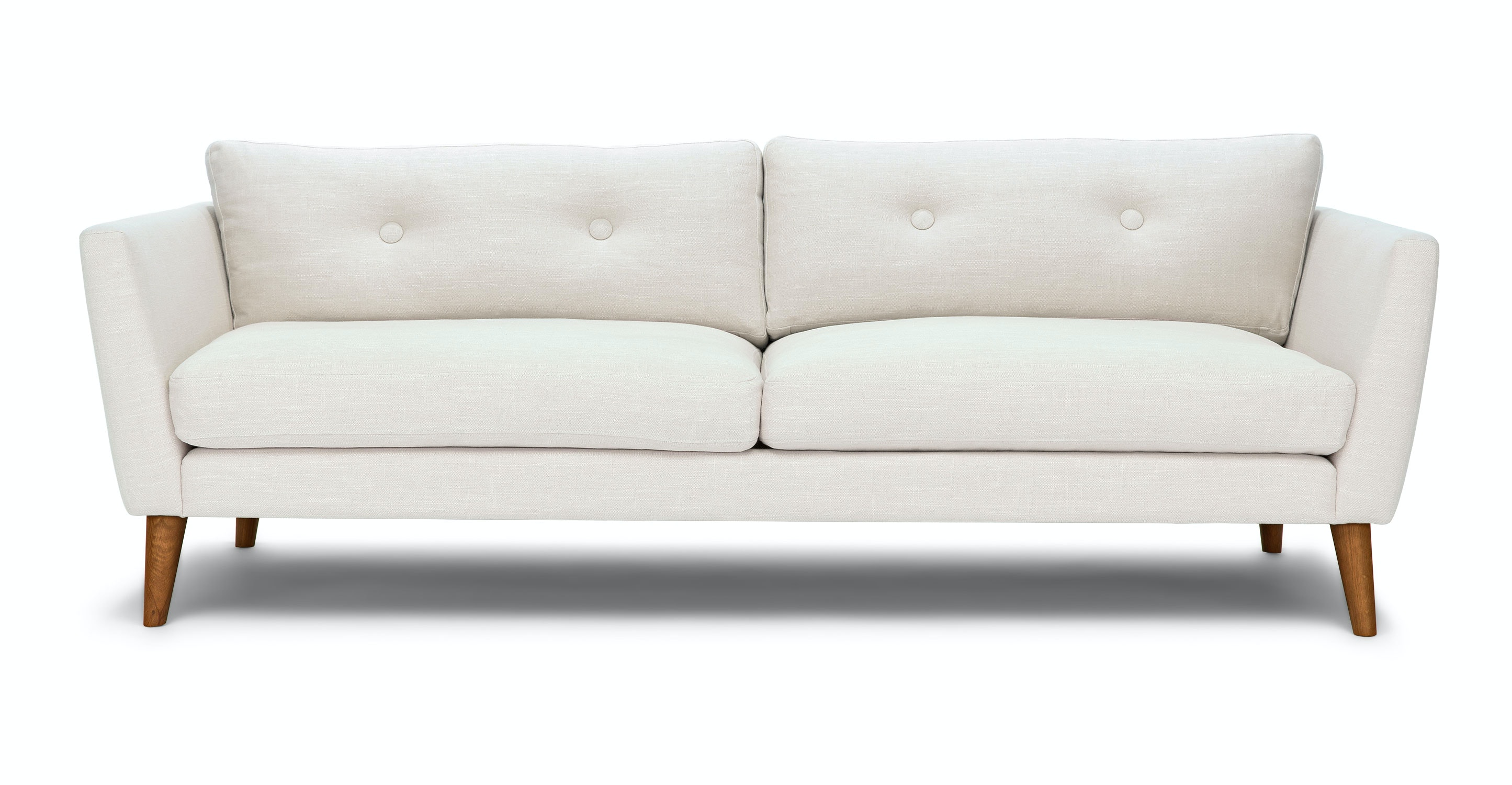Emil Quartz White Sofa