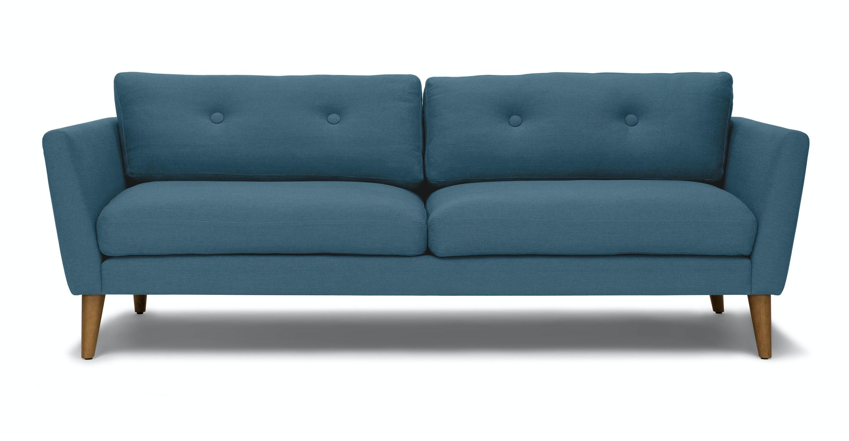 Emil Marine Blue Sofa