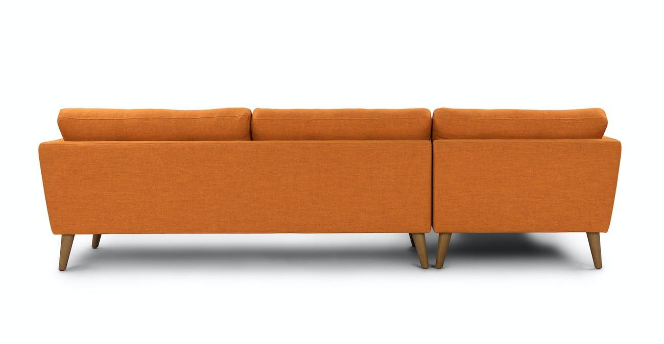 Emil Papaya Orange Left Sectional