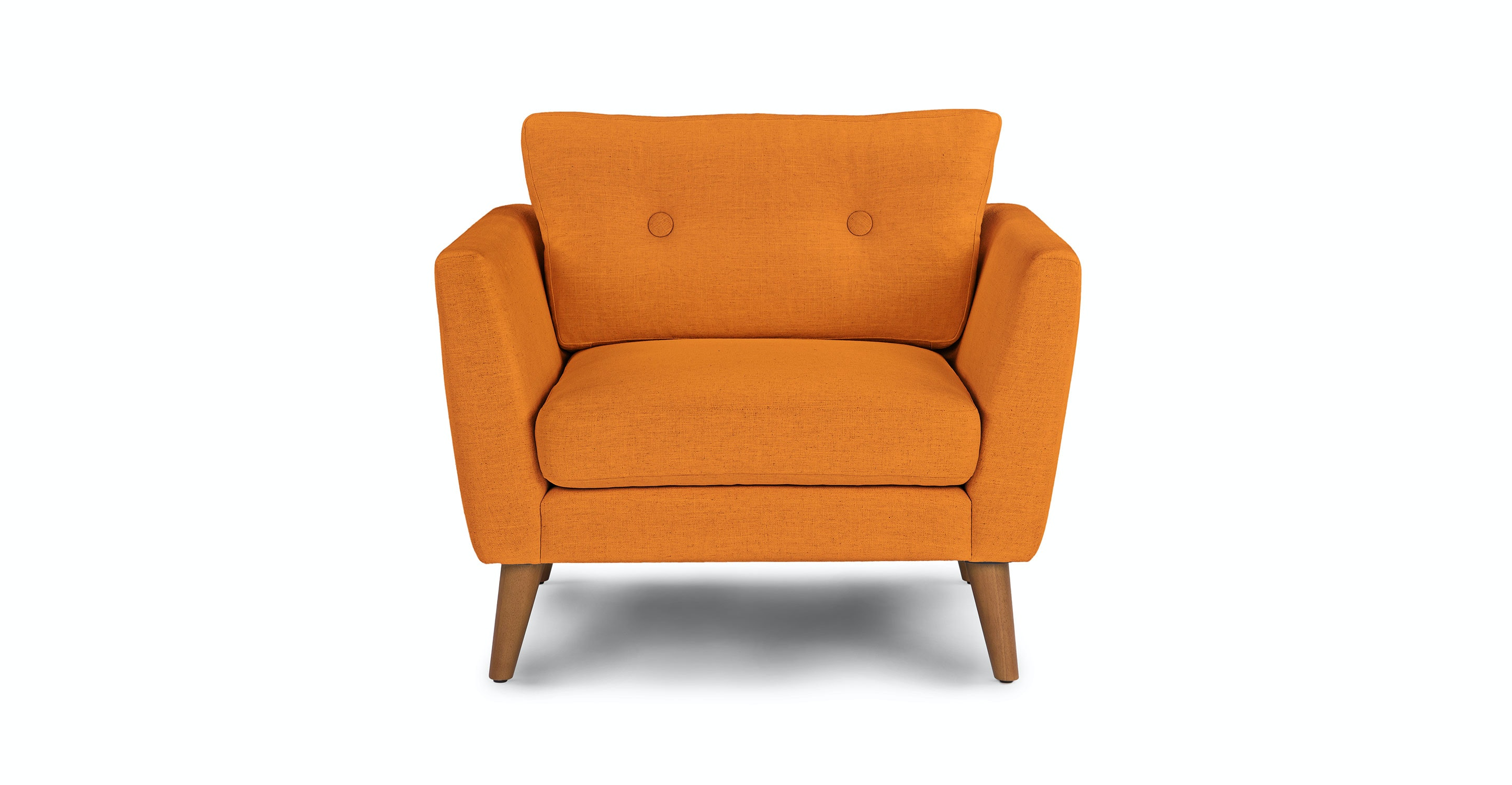 Emil Papaya Orange Chair Article