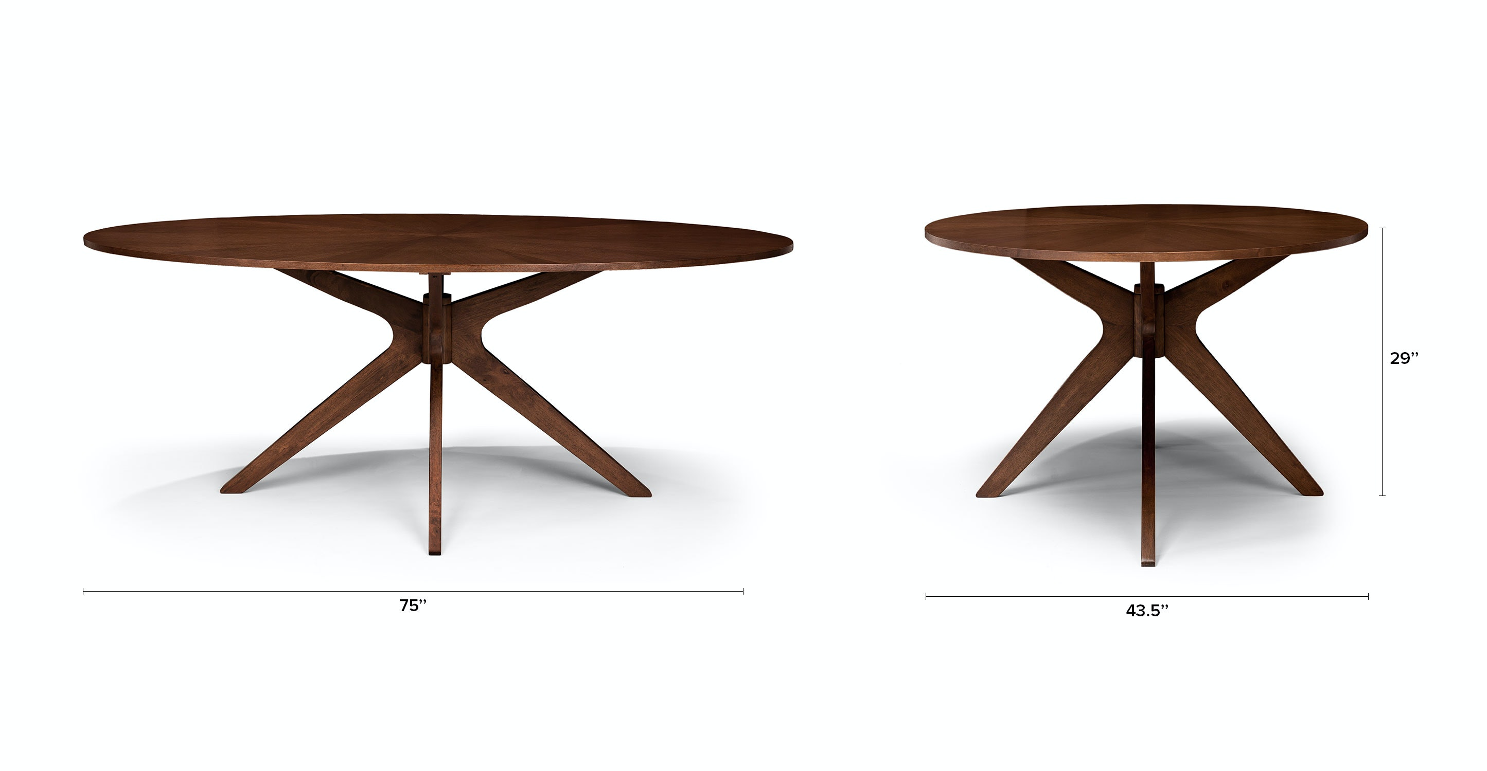Gentil Conan Oval Dining Table