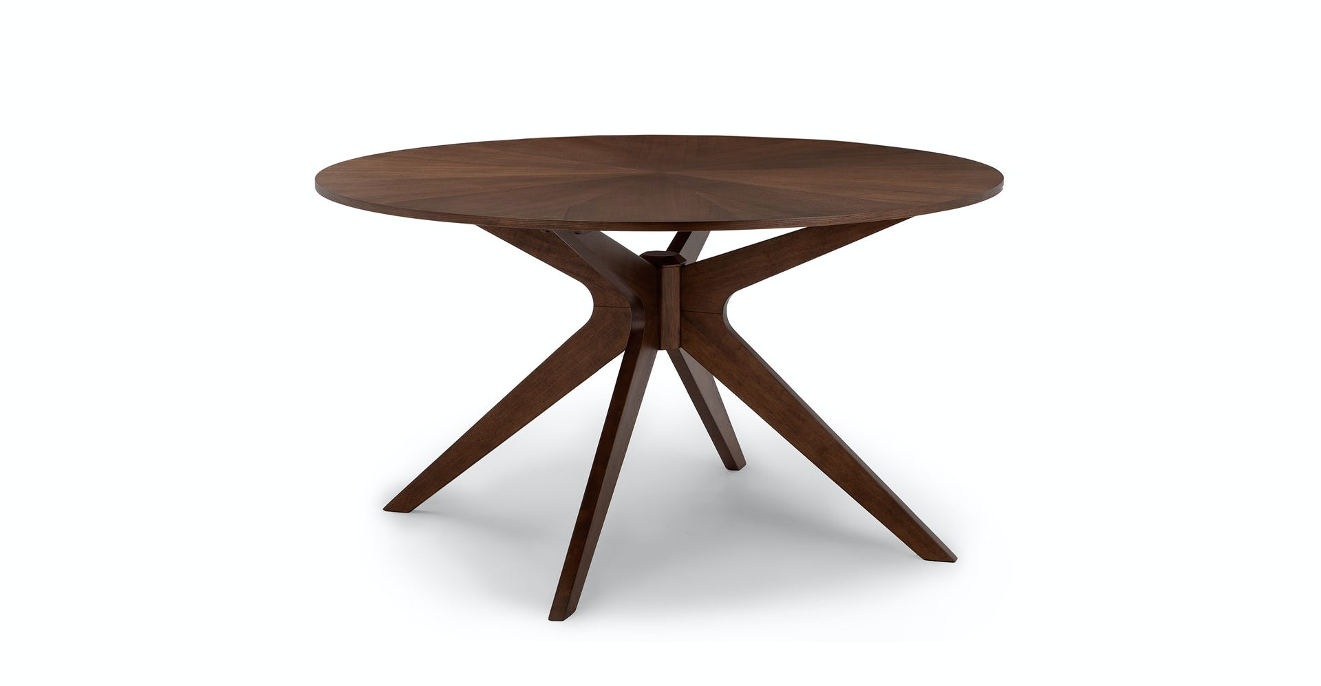 Walnut Conan 30 Round Dining Table