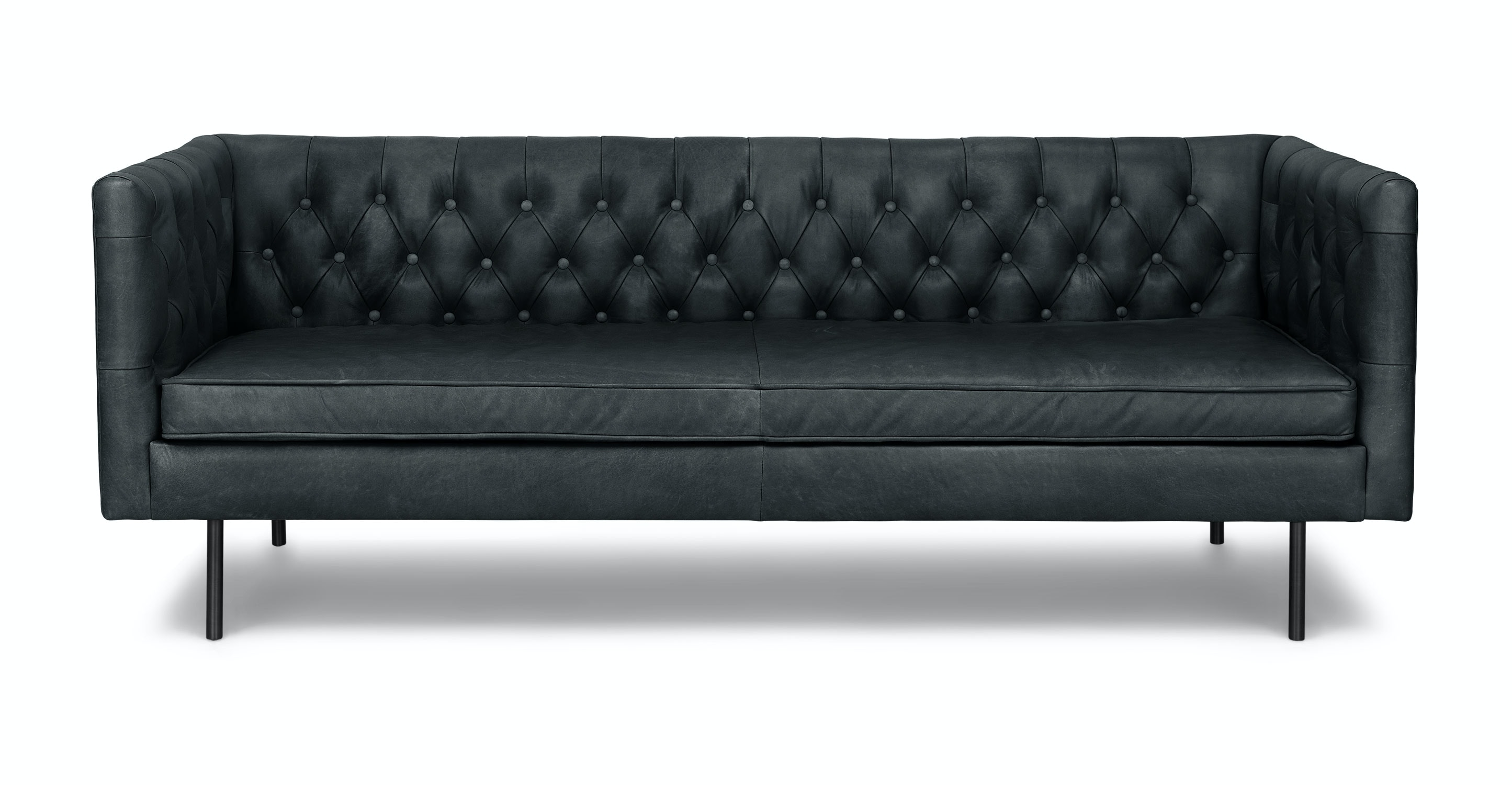 Chester Charme Black Sofa   Sofas   Article | Modern, Mid Century And  Scandinavian Furniture