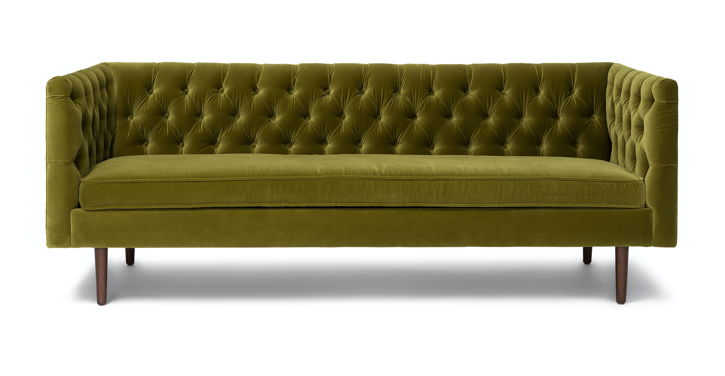 Chester Olive Green Sofa Sofas Article Modern Mid Century And Scandinavian Furniture
