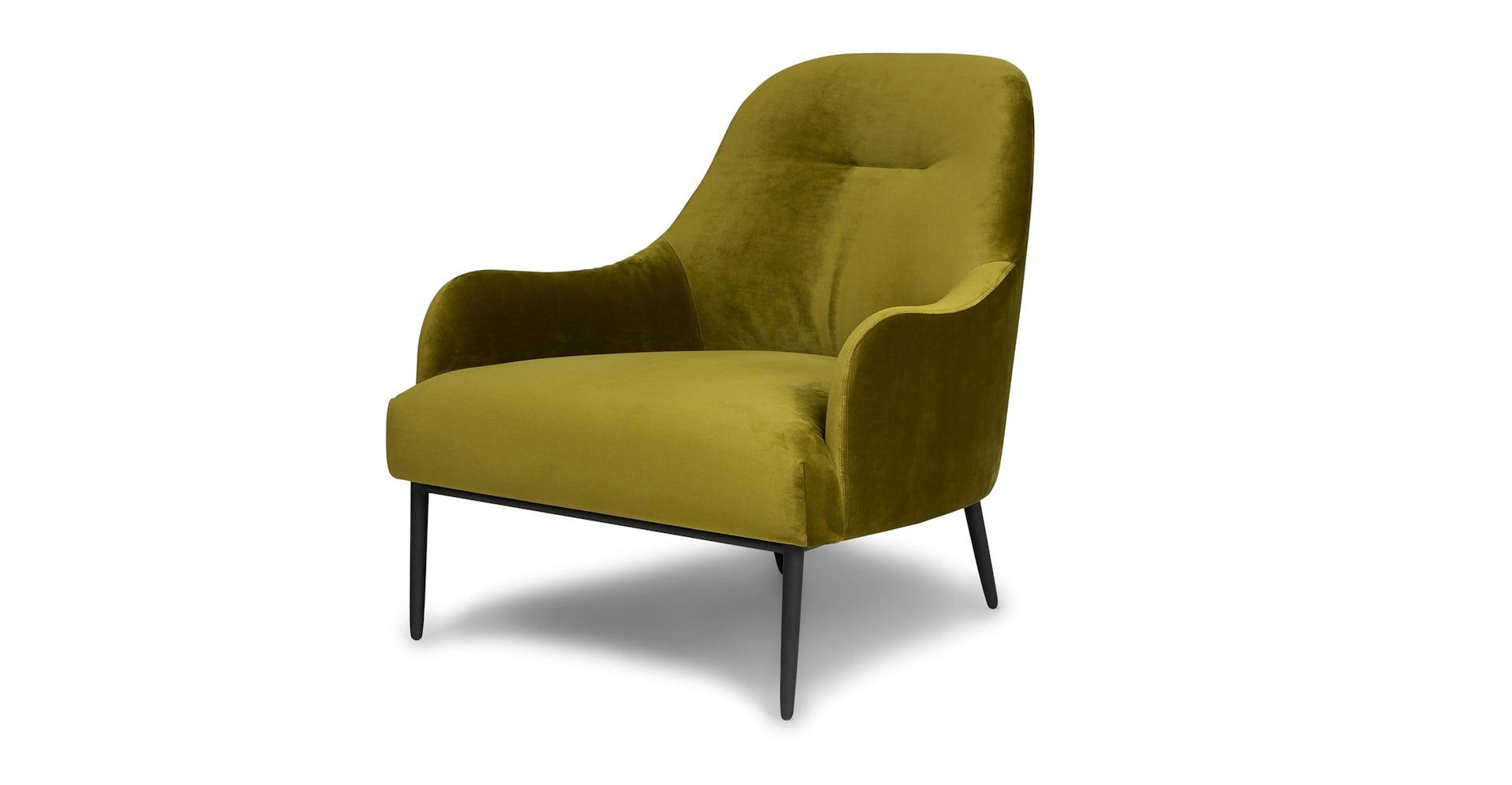 Super Moss Green Embrace Velvet Lounge Chair Article Gamerscity Chair Design For Home Gamerscityorg