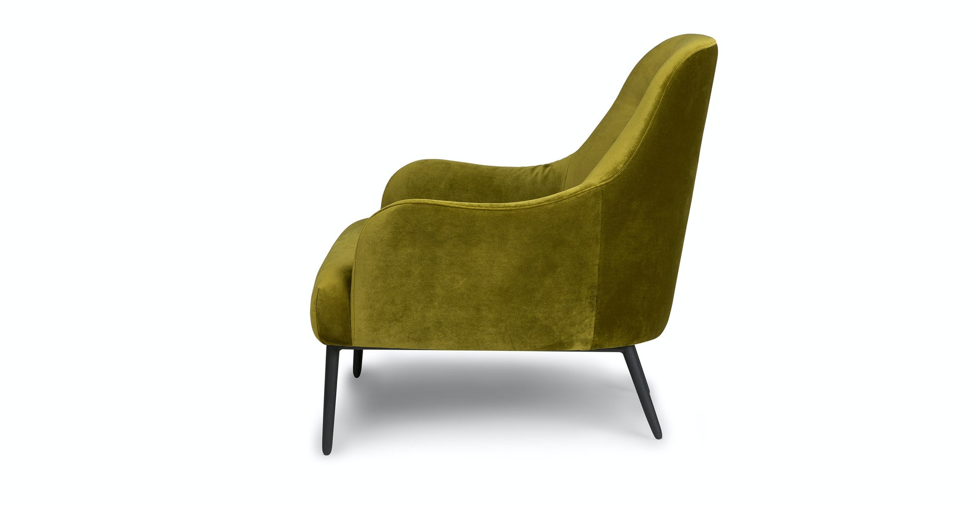 Phenomenal Moss Green Embrace Velvet Lounge Chair Article Gamerscity Chair Design For Home Gamerscityorg