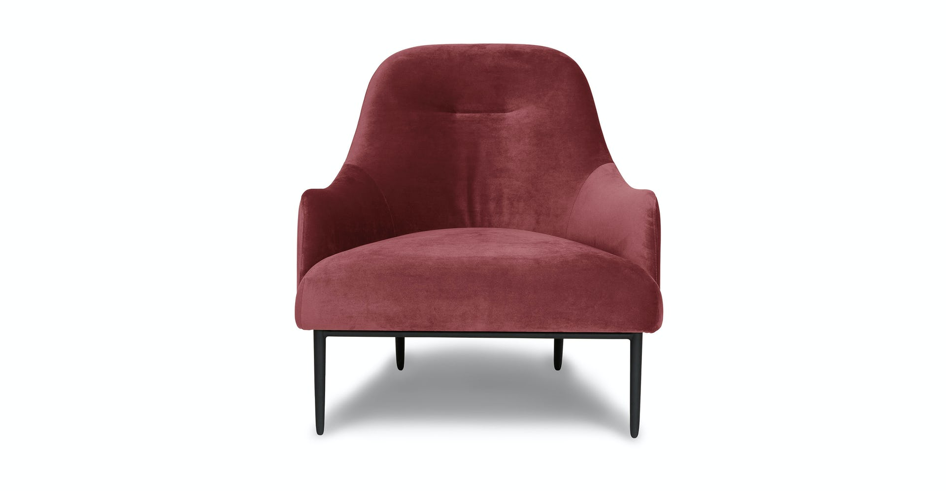 Admirable Rose Pink Embrace Velvet Lounge Chair Article Unemploymentrelief Wooden Chair Designs For Living Room Unemploymentrelieforg