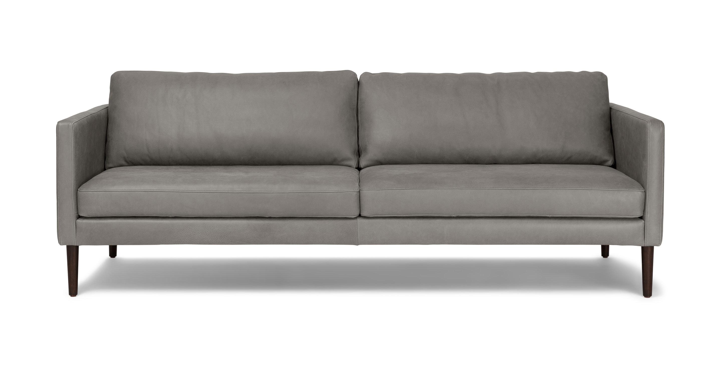 Echo Primo Lichen Gray Sofa Sofas Article Modern Mid Century And Scandinavian Furniture