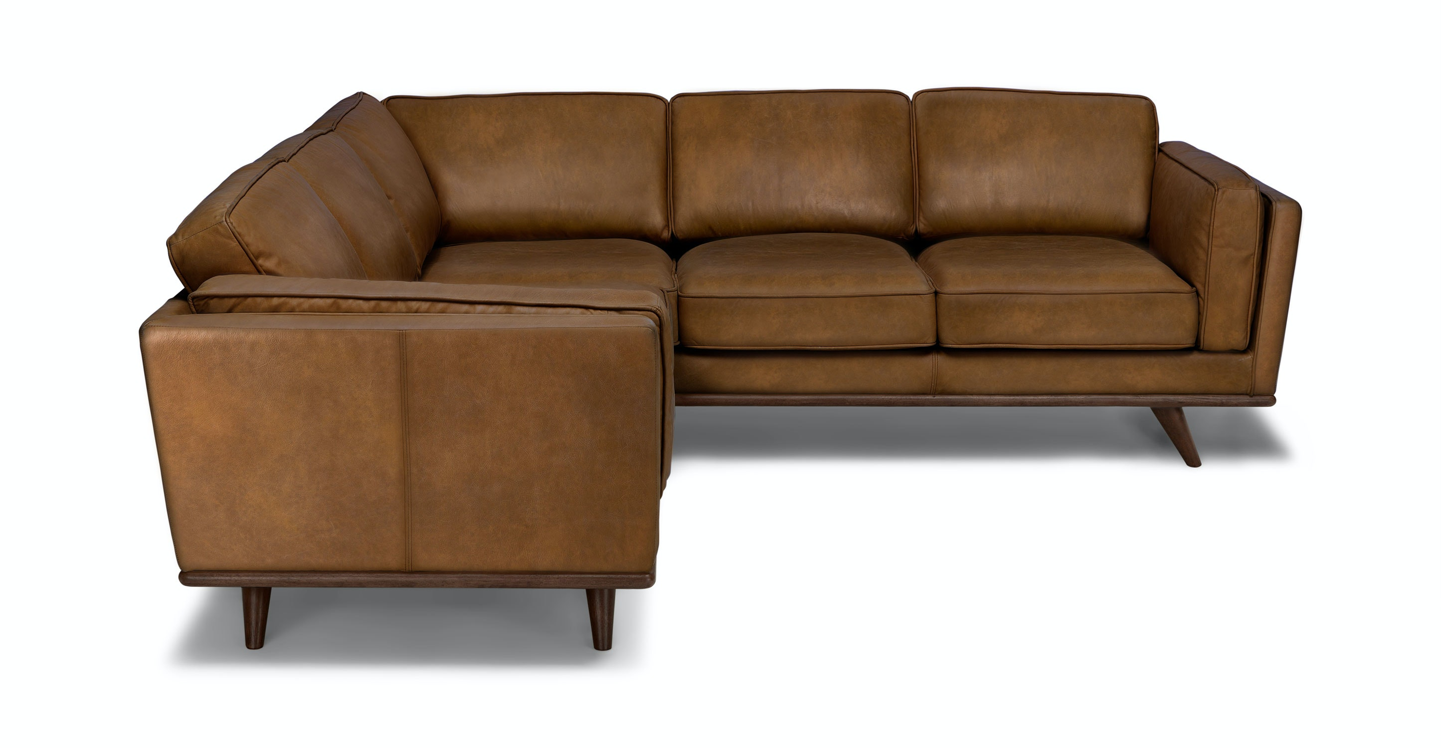 Beau Timber Oxford Tan Corner Sectional   Sectionals   Article | Modern,  Mid Century And Scandinavian Furniture